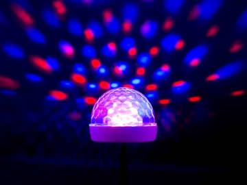 在宅勤務もノリノリに? 上海問屋からミラーボール風USBライト