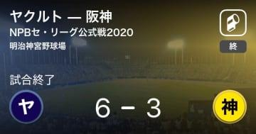 【NPBセ・リーグ公式戦ペナントレース】ヤクルトが阪神を破る