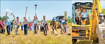 Sampath Bank's 'Wewata Jeewayak' CSR program commences 8th tank restoration project   Daily FT