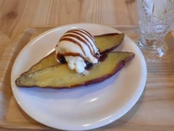 KOGUMA CAFE. サツマイモのデザートを 福岡市中央区