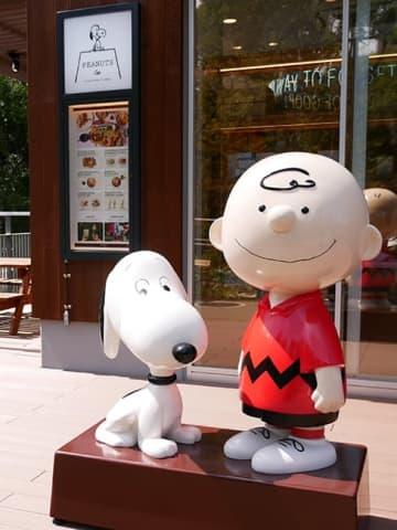 話題の新スポット!ピーナッツ カフェ 名古屋@RAYARD Hisaya-odori Park