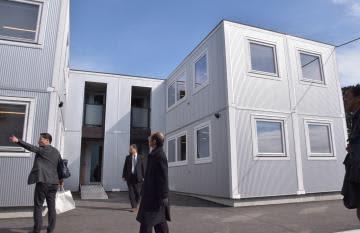 ムービングハウス協 仮設住宅300棟寄付へ 県内自治体にふるさと納税活用