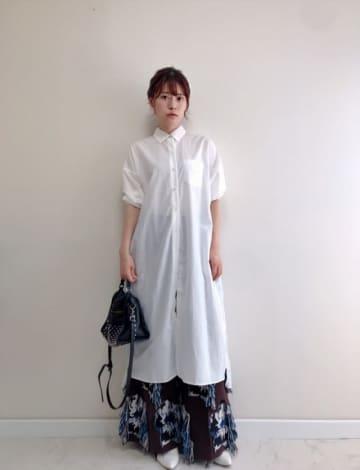 ワンピースとボトム、おしゃれな着こなし方を教えて! 「重ね着の名人・笹口直子さん」のお手本コーデ8選♪
