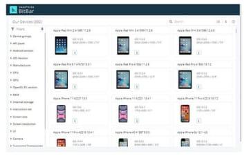 エクセルソフト、モバイルアプリ自動テストツール「BitBar」