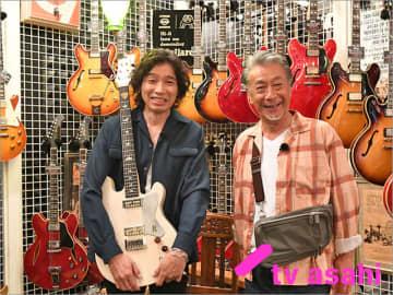 高田純次と斉藤和義が代官山を「じゅん散歩」! 5周年を祝してテーマ曲を生歌披露!!