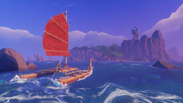 Solo adventure: In 'Windbound' you hunt and sail for your life