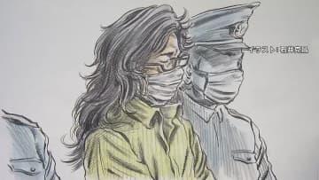 座間9人殺害 初公判始まる 伸びた髪 黒縁メガネの被告