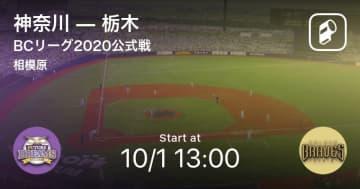 【BCリーグ公式戦】まもなく開始!神奈川vs栃木