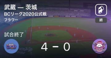 【BCリーグ公式戦】武蔵が茨城を破る
