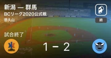【BCリーグ公式戦】群馬が新潟から勝利をもぎ取る