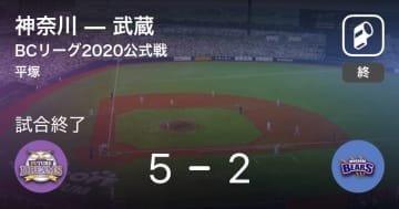 【BCリーグ公式戦】神奈川が武蔵を破る