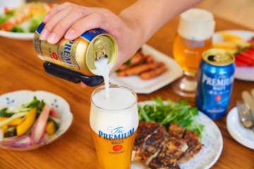 おうちの1杯目はプレミアムなビールで!10月からのビール減税が強力追い風に