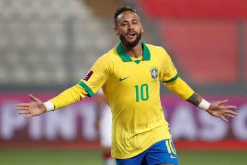 サッカー=W杯南米予選、ブラジルがネイマールの3点などで勝利