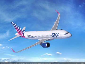スカイエクスプレス、エアバスA320neoを4機発注