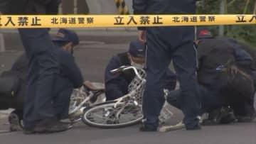札幌白石区でひき逃げ 自転車の高齢男性死亡