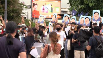 道路を占拠...各地で反政府集会 タイ・バンコク