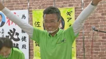 飯田市長選 新人の佐藤健氏が初当選 現職を大差で破る