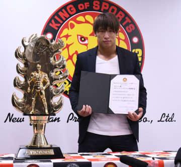 【新日本】G1連覇の飯伏が2冠奪取宣言「2つのベルトを内藤哲也から取りたい」