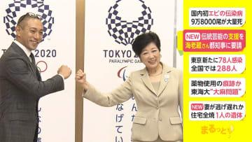伝統芸能の支援を 市川海老蔵さん、都知事に要請