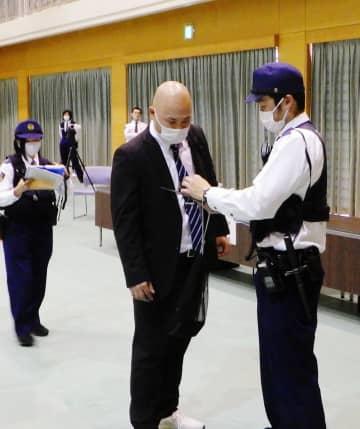 職務質問の的確さ競う 県警競技会、佐賀南署が優勝