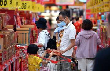中国の社会消費財小売総額、9月3.3%増