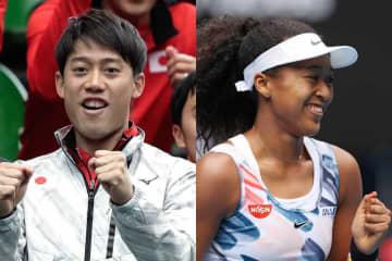 世界テニス選手収入ランキングトップ10、錦織圭・大坂なおみもランクイン!