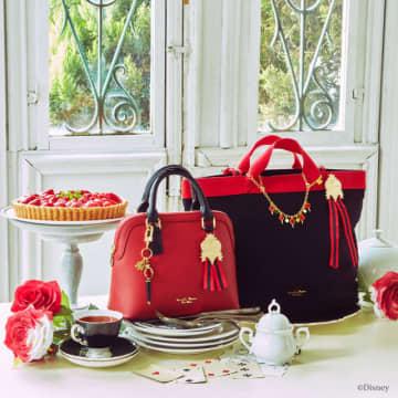 「ツイステ×サマンサタバサ」7つの寮がカラーイメージ♪ ショルダーバッグや財布など普段使いに◎なアイテム発売