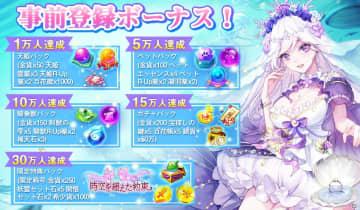 「天姫契約~ファイナルプリンセス~」の事前登録者数が20万人を突破!TwitterでAmazonギフト券が当たるキャンペーンが実施