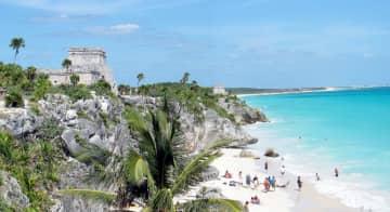Between pyramids and palm trees on Mexico's Yucatan peninsula