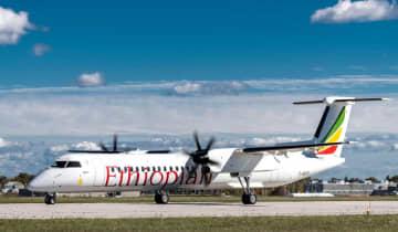 デ・ハビランド・カナダ、エチオピア航空に2機のQ400を納入 画像