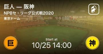 【NPBセ・リーグ公式戦ペナントレース】まもなく開始!巨人vs阪神