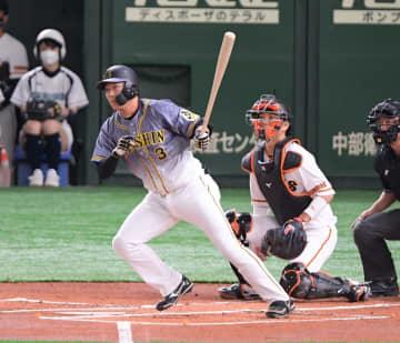 阪神・大山が先制適時打「もっと援護できるように頑張ります」