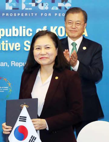 日本、韓国候補を不支持へ WTO次期事務局長選 画像