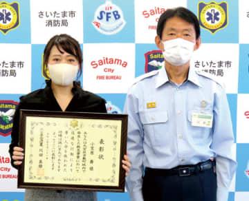 電車内で心肺停止、男性倒れる…乗っていた看護師が心臓マッサージ、経験生かし人命救助 大宮消防署が表彰