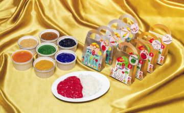 """""""8色""""展開の「八食カレー」話題呼ぶ 県産食材使用、パッケージもこだわり"""
