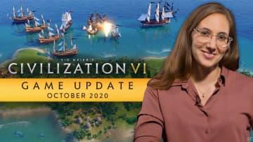「シドマイヤーズ シヴィライゼーション VI」新シナリオ「海賊」を含む10月の無料アップデートが配信開始!