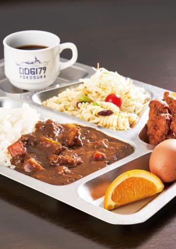 「軍港食堂」門外不出の味 ビュッフェ形式で海自カレー