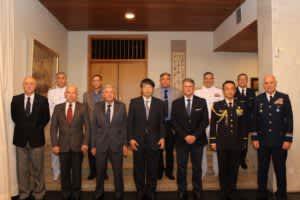 大使館=自衛隊記念日祝い夕食会開催=エレーノGSI長官らも出席=大統領「日本移民に感謝」と伝言