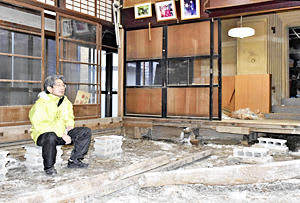 歌手・伊藤久男「生家」解体へ 東日本台風で被害...苦渋の決断