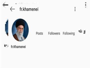 Instagram suspends Iranian supreme leader Khamenei's account after anti-Macron post