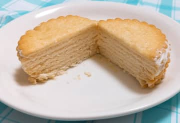【感動】「ハーベスト」がケーキに変身!? メーカーおすすめ簡単アレンジやってみた。