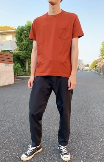 """色違いも欲しい…!無印の""""1490円Tシャツ""""が快適すぎました。"""