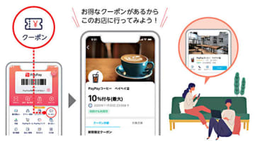 「PayPayクーポン」がまもなくスタート! 松屋、コジマ、デニーズなどが配信予定