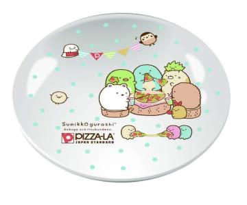 すみっコぐらしのお皿可愛すぎ! ピザーラに数量限定パック登場したよ。