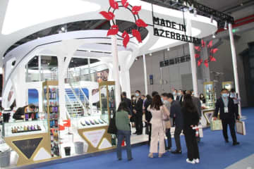 Products of over 20 Azerbaijani companies presented at exhibition in China