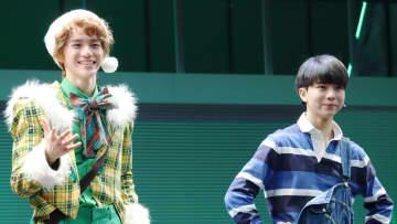 美 少年・岩﨑大昇 初主演ミュージカルで自慢の歌声&軽快なステップを披露!