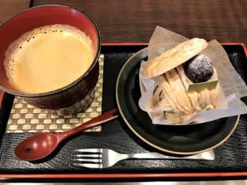 【京都】羊かん×モンブラン、抹茶×ティラミス!ユニークな和洋スイーツに舌鼓「一乗寺中谷」