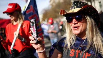 【米大統領選2020】 トランプ氏支持者が大規模デモ、バイデン氏勝利確実に抗議