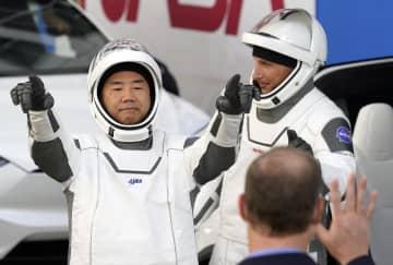 野口聡一さん宇宙ステーションへ