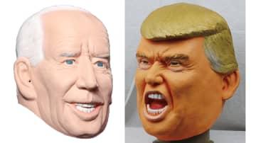 """""""なりきりマスク""""はバイデン氏とトランプ氏どちらが人気?こっちも接戦か製造メーカーに聞いてみた 画像"""